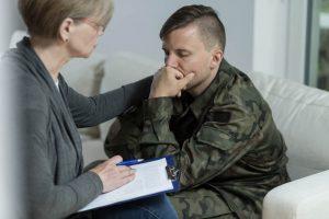 חייל בטיפול ריגשי