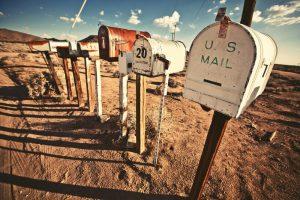 תיבות דואר ישנות