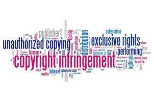 זכויות יוצרים תמונה דקורטיבית