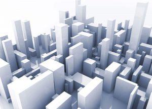 הדמיה לפרויקט בניינים